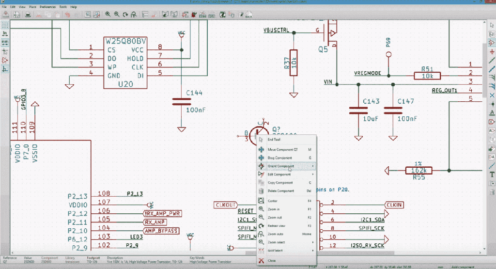 The Ultimate Pcb Design Software Comparison Sfcircuits 3d Building Electric Wiring Diagram Kicad Screenshot However Schematic
